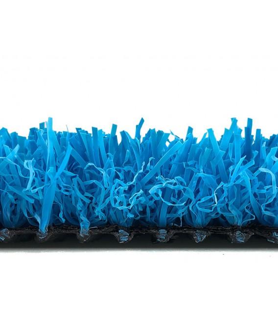 cesped artificial barato colores modelo azul perfil corto